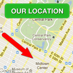 closest bike rental location to central park