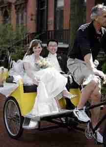 Pedicab wedding New York NY NJ CT PA