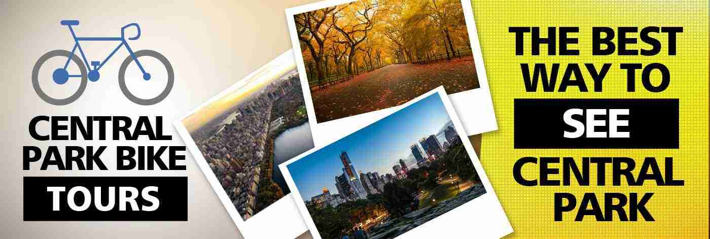 Central park bike tours in new york for NYC fun