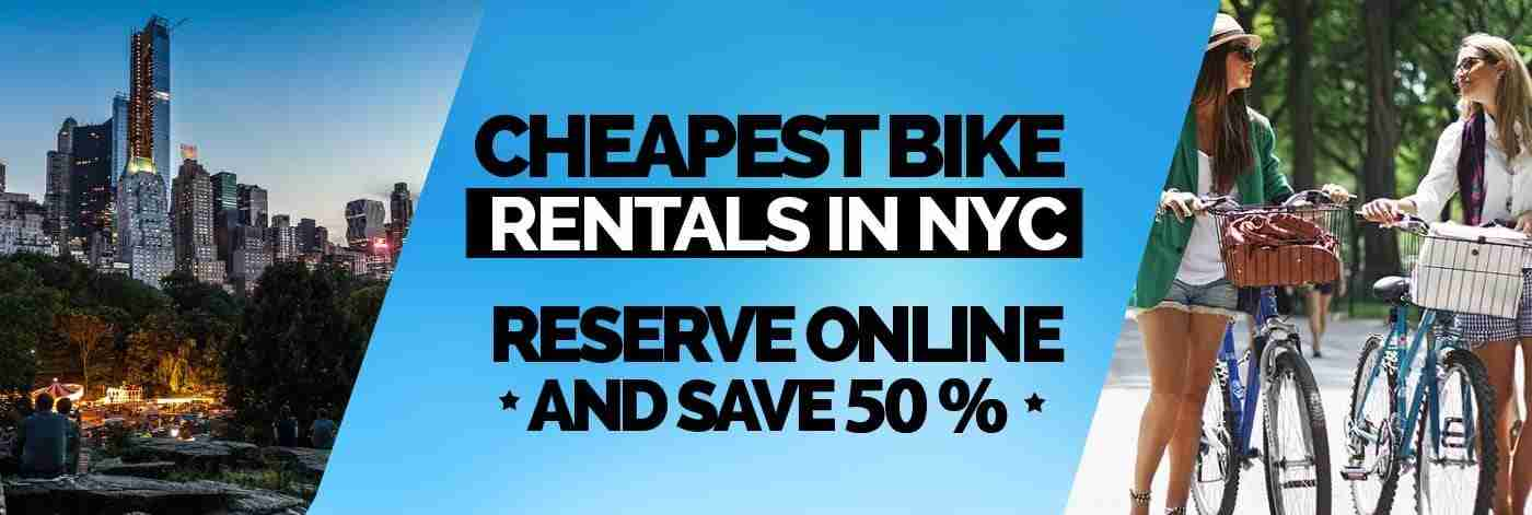cheapest bike rental in central park new york